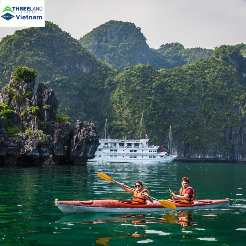 Sports Fans' Holiday To- Do -So in Halong Bay Islands