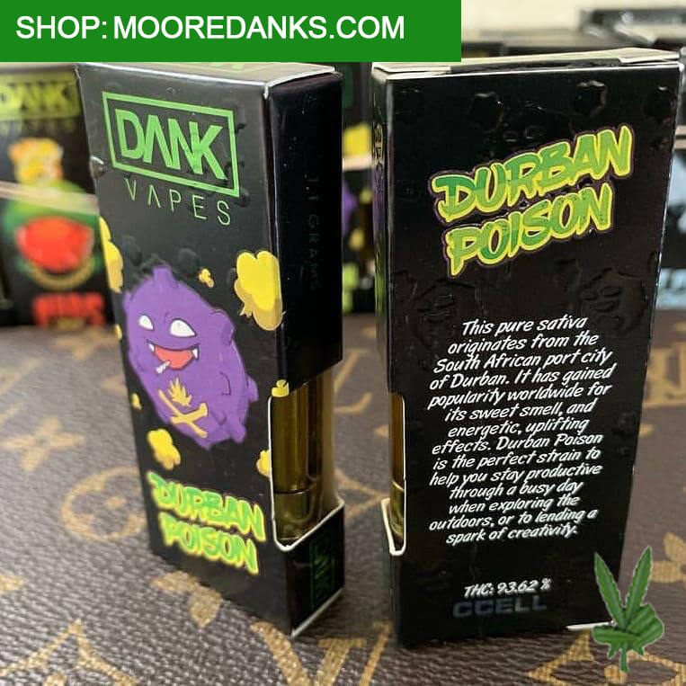 DURBAN POISON CAN BE USED FOR VAPE